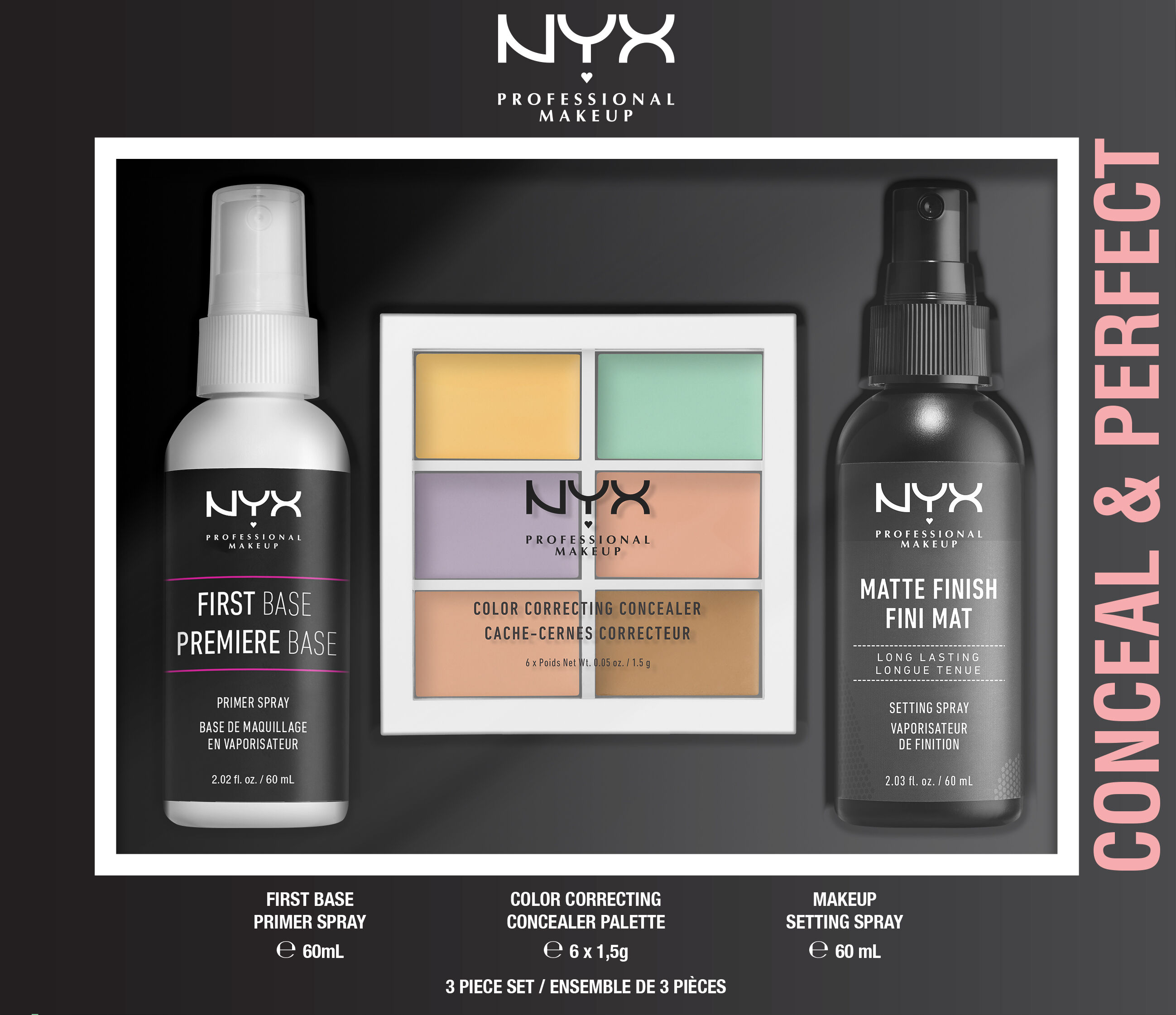 Conceal & Perfect NYX Professional Makeup