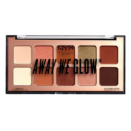 Paleta de sombras Away We Glow Shadow Palette