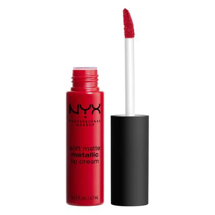 Pintalabios Mate Soft Matte Metallic Lip Cream